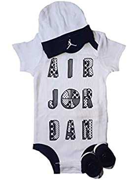 Nike Jordan Baby-Set Mütze Strampler Socken 3.TLG Boys