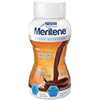 Meritene Strength and Vitality Chocolate Ready to Drink Shake, 200 ml, Pack of 8