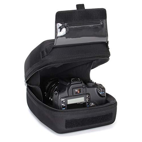 USA Gear Funda Cámara de Fotos Reflex Carcasa rígida y Estuche para Objetivos con Zoom de EVA,...