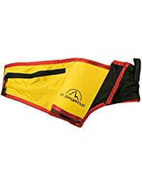 La Sportiva Trail Drink Belt, Mochila Unisex Adulto, Multicolor (Black/Yellow)