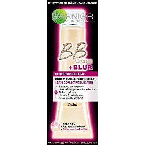 Garnier skin naturals bb creme +blur base lissante clair 40ml - ( Prix Unitaire ) - Envoi Rapide Et Soignée