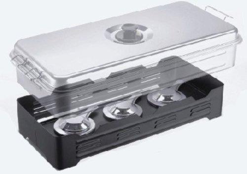 Cormoran Tisch-Räucherofen XL 50x26x12cm