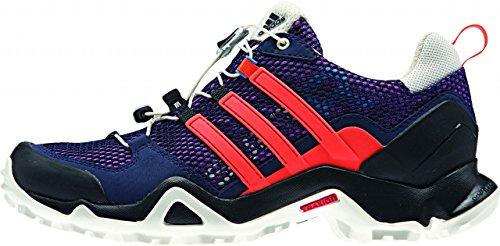 Adidas Terrex swift flapnk r w/Suola rossa/tomaia nera - multicolore