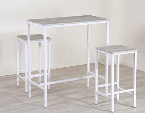 BRASIL-Set-table-et-2-tabourets-meubles-cuisine-Bar-Kebab