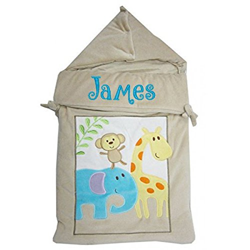 Baby Originals Ltd Baby Jungen Schlafsack beige Beige Animal 3 Monate