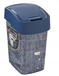 Curver Deco Flip Bin Jeans