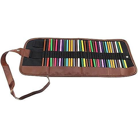 Super Lienzo enrollable Estuche Wrap, color 36 slots