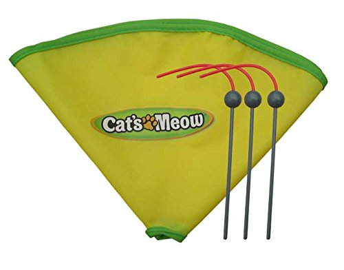 AOLIKES Undercover Ratón de repuesto para Varita Y 23'nailon falda para Cat 's Meow gato de juguete como visto en TV