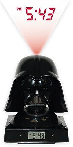 Star Wars 3D-Wecker Darth Vader / mit original typischen Darth Vader Sounds