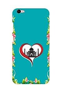 AMAN Taj Mahal 3D Back Cover for Vivo Y66