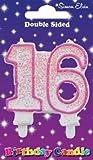 Simon Elvin Geburtstagskerze, 16. Geburtstag rose