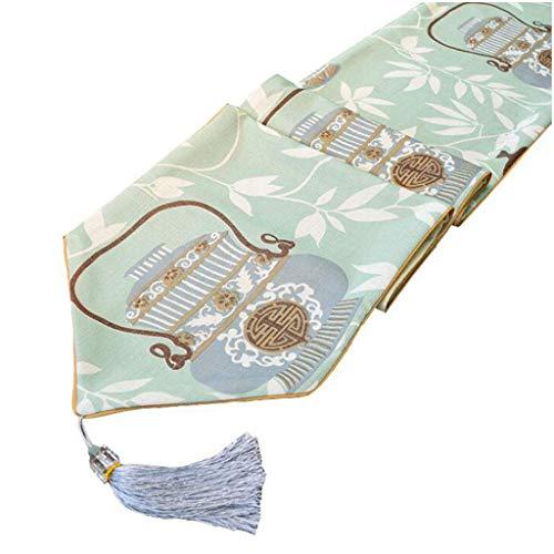 XHCP Bandera Mesa Zen Flor mezclada Imagen Estilo