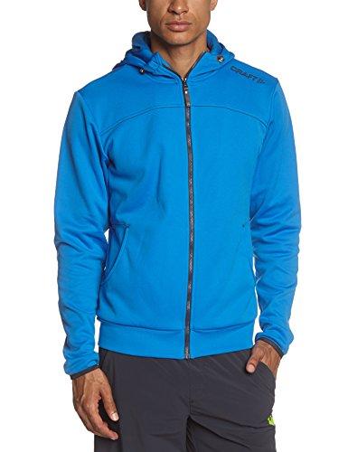 Craft Herren Sweatshirt Leisure Full Zip Hood Sweden