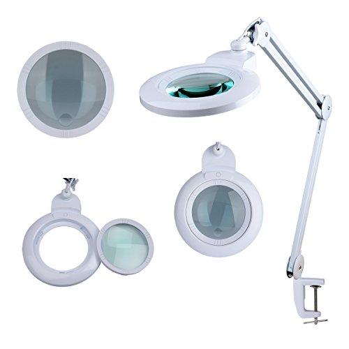 Komerci Wechsellinse für Lupenleuchte Lupenlampe KML-9006 150mm mit 5+20-Dioptrien