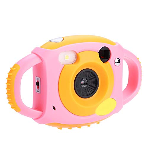 VBESTLIFE Mini Cámara Hermosa de Juguete 2 Colores 1.8' HD Pantalla Cámara de Video Digital con 4 Filtros Videojuegos Regalos para Niños (Rosa)