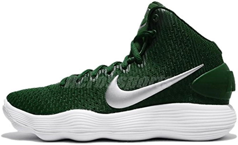 Nike Men's React React React Hyperdunk 2017 Basketball Shoes (10, Gorge Green/Green/Silver-M) | diversità  | Ufficiale  | Uomo/Donne Scarpa  | Uomo/Donna Scarpa  1e4b8a