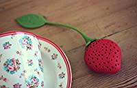 Strawberry Shape Silicone Herbal Green Tea Infuser Filter Strainer