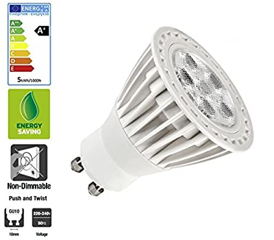 Ultra Bright 3W GU10 LED Bulbs Warm in White by SunSolar - Read Reviews