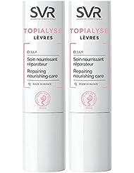 SVR Topialyse Soin Lèvres Lot de 2 x 4 g