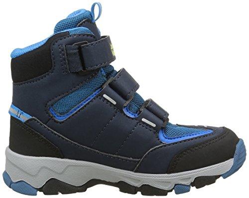 Jack Wolfskin Mtn Attack 2 Texapore Mid Vc K, Scarpe da Arrampicata Unisex – Bambini Blu (Glacier Blue 1121)