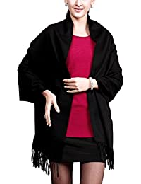 Novawo® Extra groß 198 x 68 cm Kaschmir und Wolle Schal Damen Herren(8 Farben)