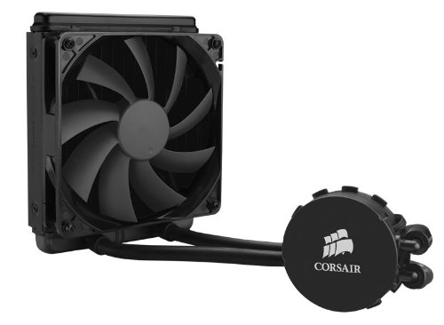 Corsair Hydro H90 All-in-One Liquid CPU Cooler Sistema di Raffreddamento a Liquido, Radiatore da 140 mm, Nero