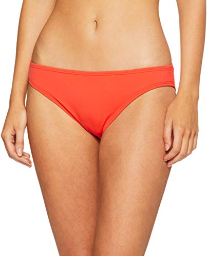 Vince Camuto Damen Classic solid Hipster Bikini Bottom Swimsuit Bikinihose, Surf Shades Koi, Small - Solid Classic Bikini Bottoms