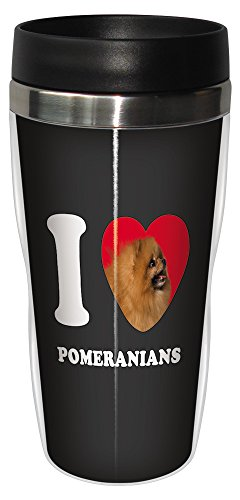 tree-free-greetings-sg25101-i-heart-pomeranians-sip-n-go-stainless-lined-travel-tumbler-16-ounce-tan