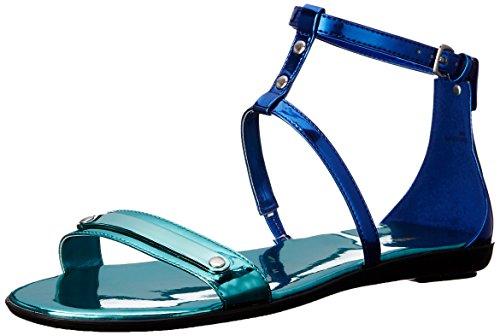 Nine West Getup Donna US 5.5 Blu Sandalo Gladiatore