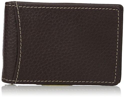 Dopp Herren Geldbörse (Dopp Herren Geldbörse Hudson RFID-Blocking Vordertasche Geldklammer Slim Wallet - Braun - Einheitsgröße)
