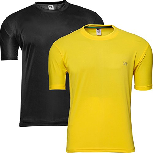 TSX Men's Dryfit T-shirt- Pack of 2  available at amazon for Rs.199