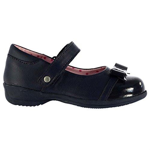 Kangol Enfants Sophia Chaussures Plates Ballerines Enfiler Dolly Espadrilles Bleu Marine