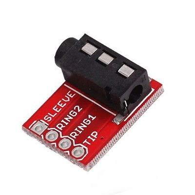 Generic audio m video audio 5mm JA Breakout cuffie jack 3jac MP3P3jack trrs 3.5mm jack