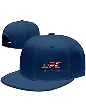 maneg Campeonato UFC MMA Unisex Fashion Cool ajustable Snapback gorra de béisbol sombrero un tamaño, Talla única...