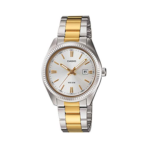 Casio Enticer Analog Silver Dial Women's Watch - LTP-1302SG-7AVDF (A478)