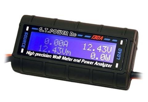 VIPMOON 130 Amps Power Analyzer, G.T. Power RC Watt Meter