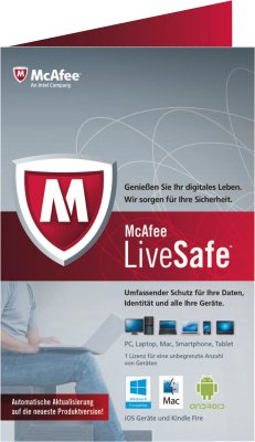 McAfee LiveSafe Promo 2015