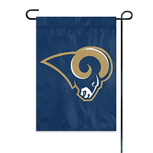 Party Animal Los Angeles Rams Garden Flag by Party Animal
