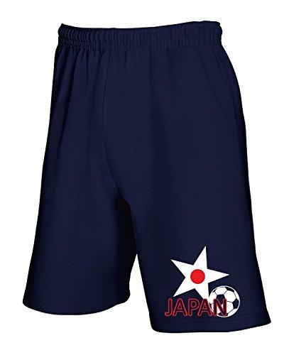 Cotton Island - Pantalone Tuta Corto T0716 JAPAN calcio ultras, Taglia L