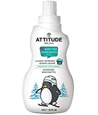 Attitude Little Ones Laundry Detergent for Baby 35 Loads, Pear Nectar 35.5 oz
