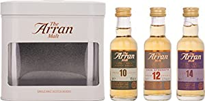 Arran Whisky Gift Pack 5 cl (Case of 3) from Isle of Arran Distillers