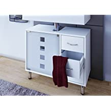 VCM Lodala - Set de baño, 5 piezas, color blanco