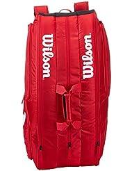 Wilson Team II 12PK Bag RD - Bolsa, color rojo, talla única