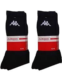 Kappa - Chaussettes de sport - Homme Größe 39-42 / 6 Paar noir