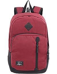 Lavie London 28 Ltrs Burgundy School Backpack (BUEI105144N3)