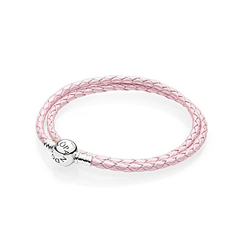 Pandora Bracciali di corda Donna argento 590745CMP D3