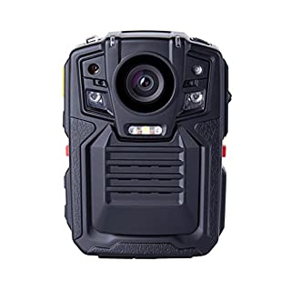 Body Kamera, a-best Infrarot-Nachtsicht 1080P Full HD Camcorder Action Kamera Wasserdicht Staubdicht unterstützt Bewegungserkennung Built in GPS Police Körper getragen Video Kamera Sicherheit Cam (64GB TF Karte Built in), Body cam02-64G