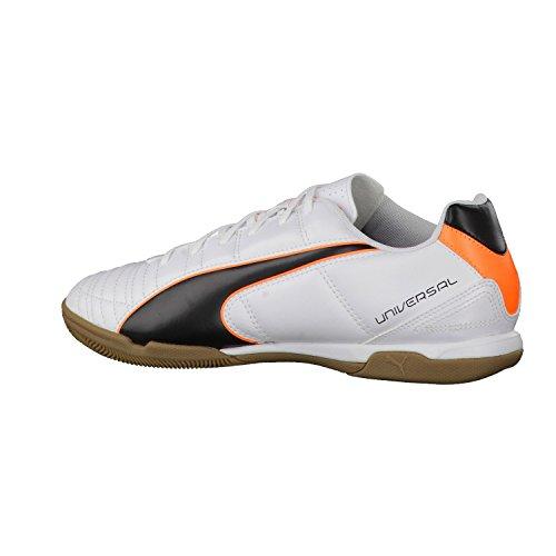 Puma Universal II IT, Scarpe sportive indoor uomo - bianco/nero