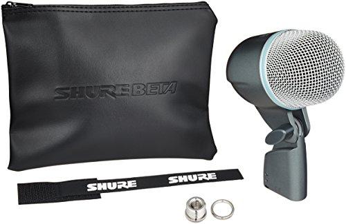 Preisvergleich Produktbild SHURE BETA 52 A Studio Mikrofon mit Kabellos,  schwarz – Mikrofone (Studio Mikrofon,  -64 DB,  20 – 10000 Hz,  kabelgebunden,  schwarz)