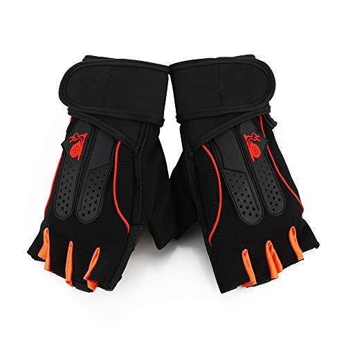 Zerone Unisex Gewichtheberhandschuhe, Vollständiger Handballenschutz Griphandschuhe Sport Fitness Training Workout Gymnastikhandschuhe mit Handgelenkswickel, Krafttraining und Bodybuilding